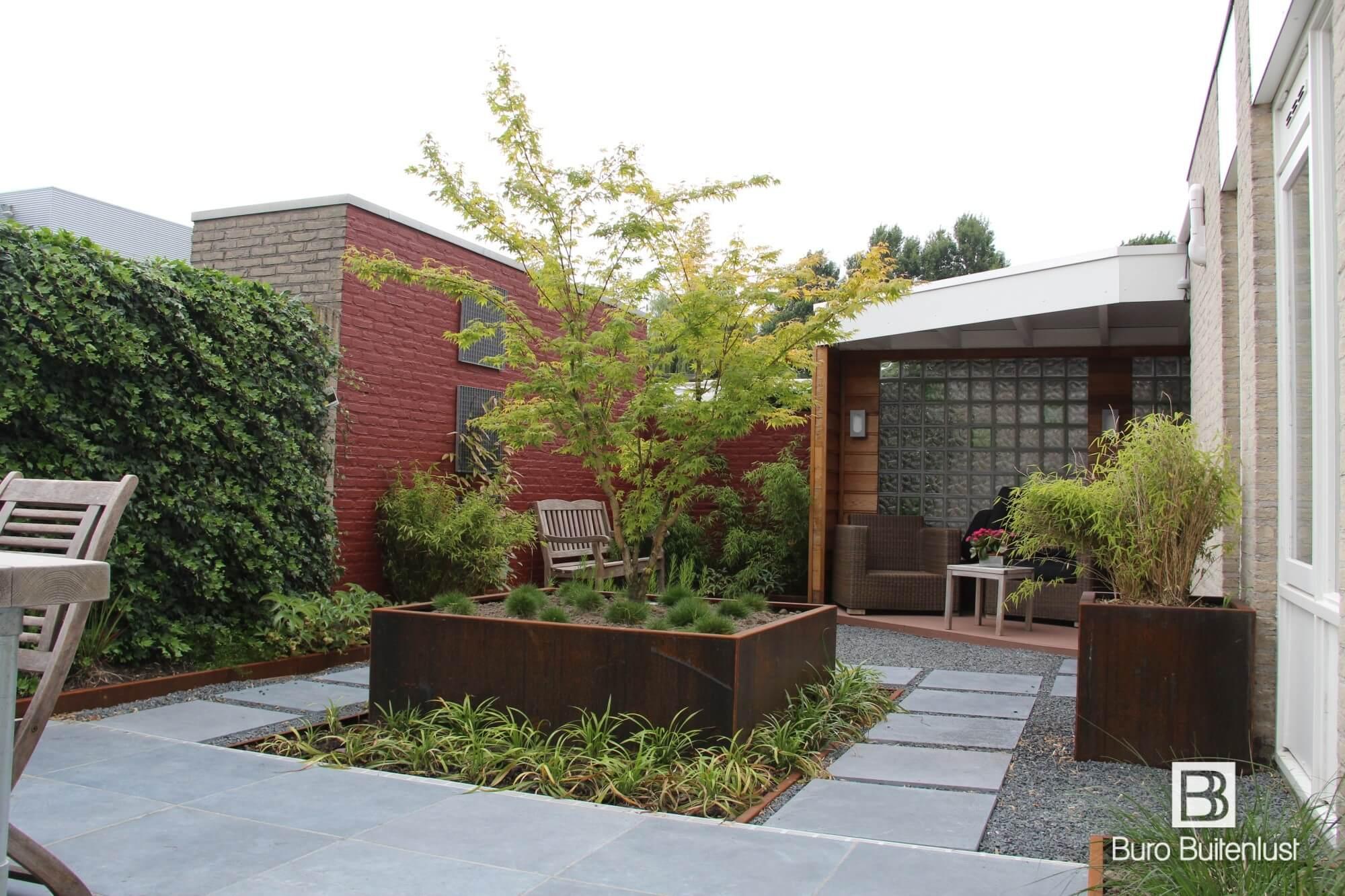 Moderne patiotuin buro buitenlust for Ontwerp tuin