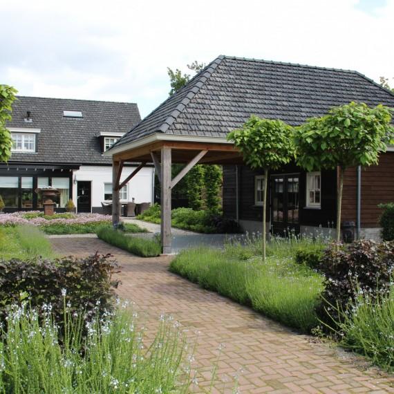 Landelijke tuin Noord Brabant