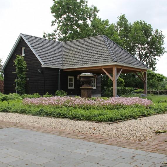 Modern landelijk tuinontwerp