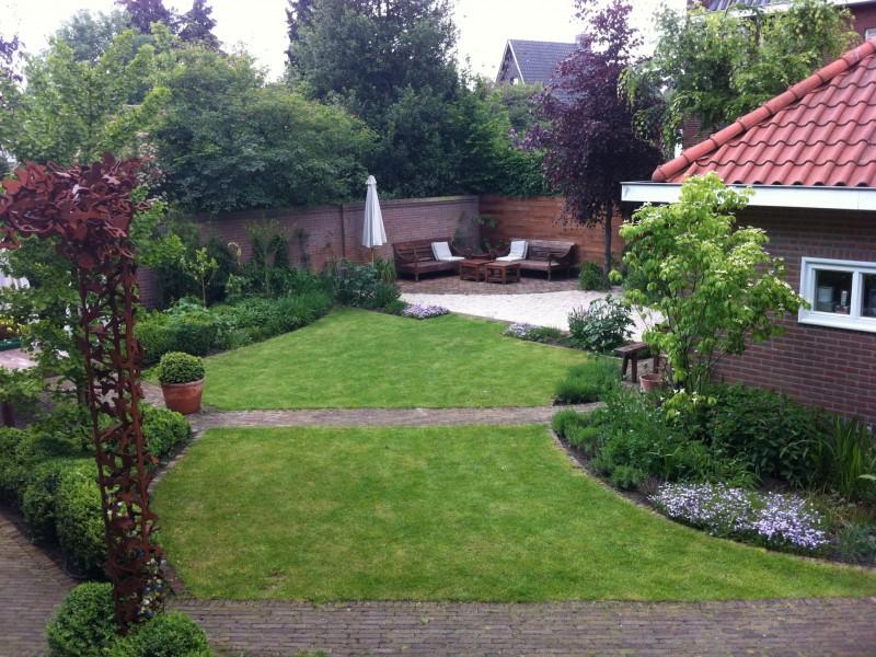 Tuin Parklaan Eindhoven