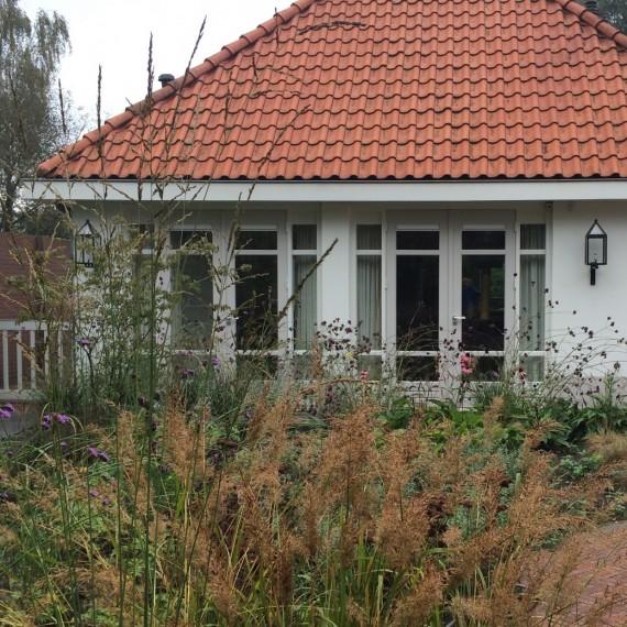 Natuurlijke tuin bij landgoed Jan des Bouvrie