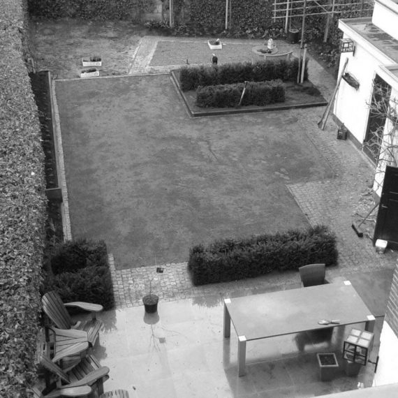 Aanleg klassieke tuin Eindhoven