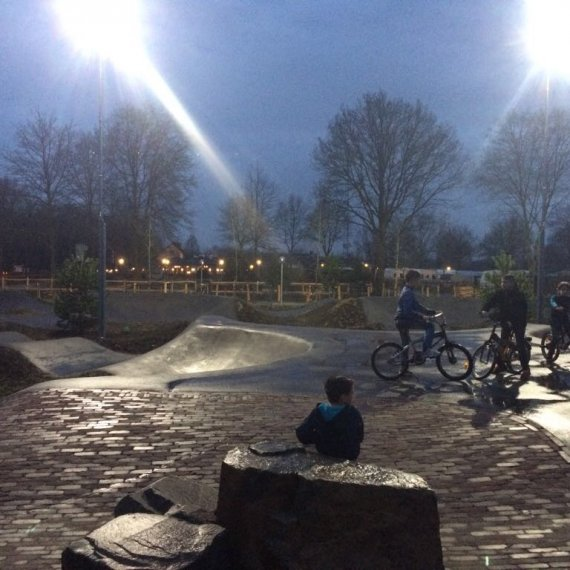 Pumptrack recreatie en sportterreinen