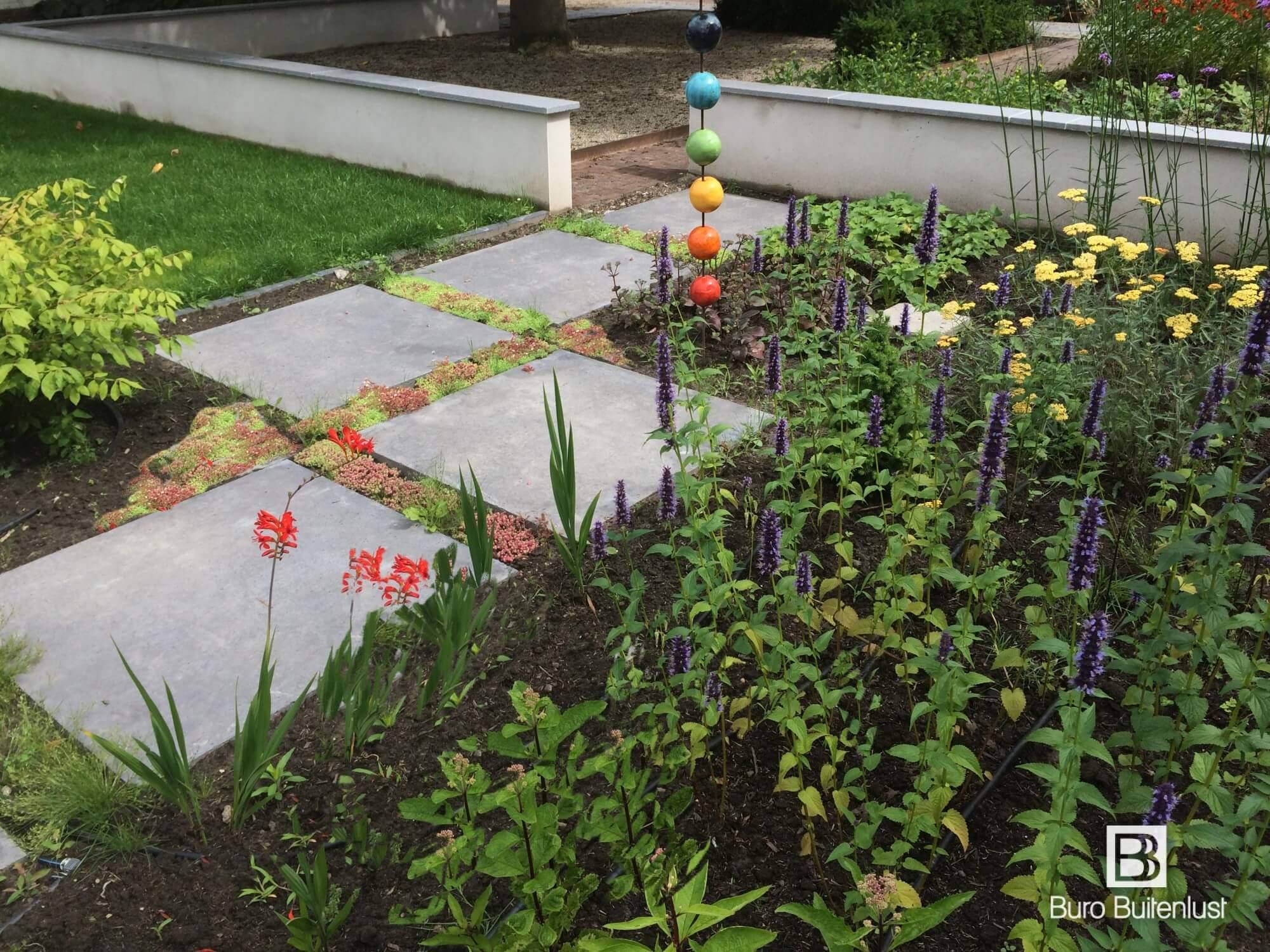 Tuinontwerp moderne landelijke tuin Weert