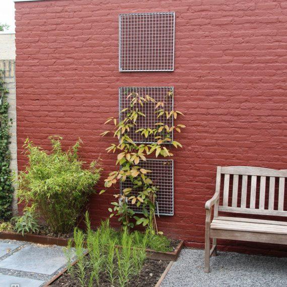 Modern tuinontwerp kleine tuin
