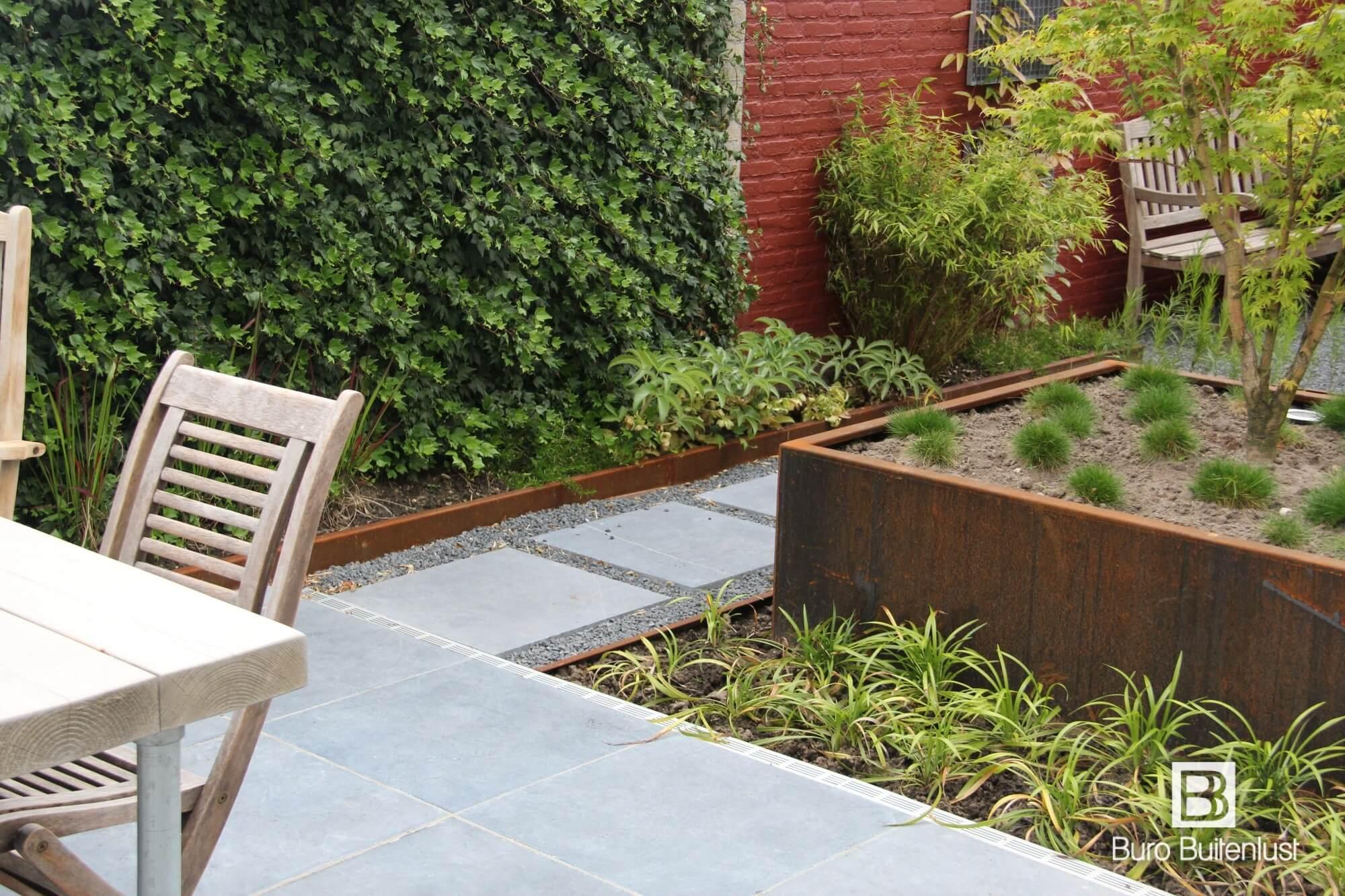 Sfeervolle kleine tuin