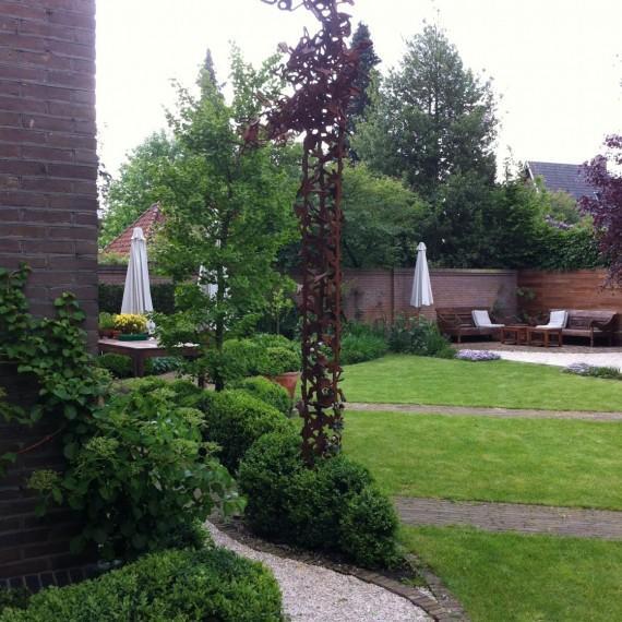 Exclusieve tuin bij stadsvilla Eindhoven