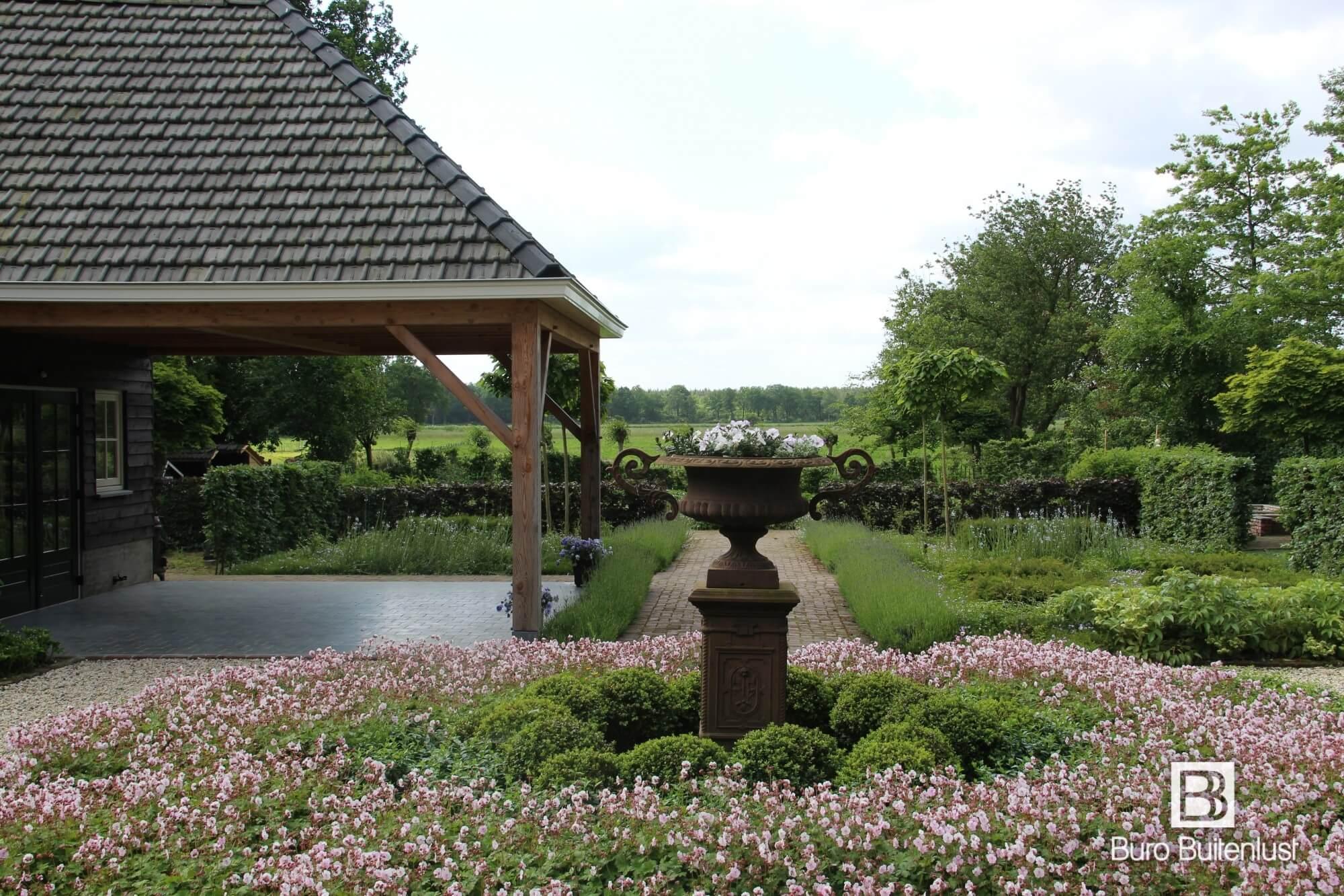 Klassiek landelijke tuin Noord Brabant