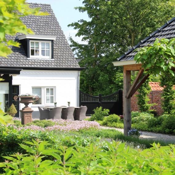 Klassiek moderne tuin