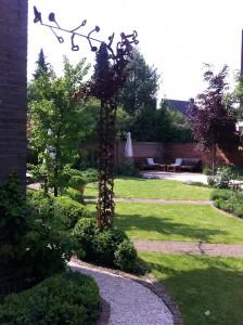 Tuinontwerp royale stadstuin Eindhoven