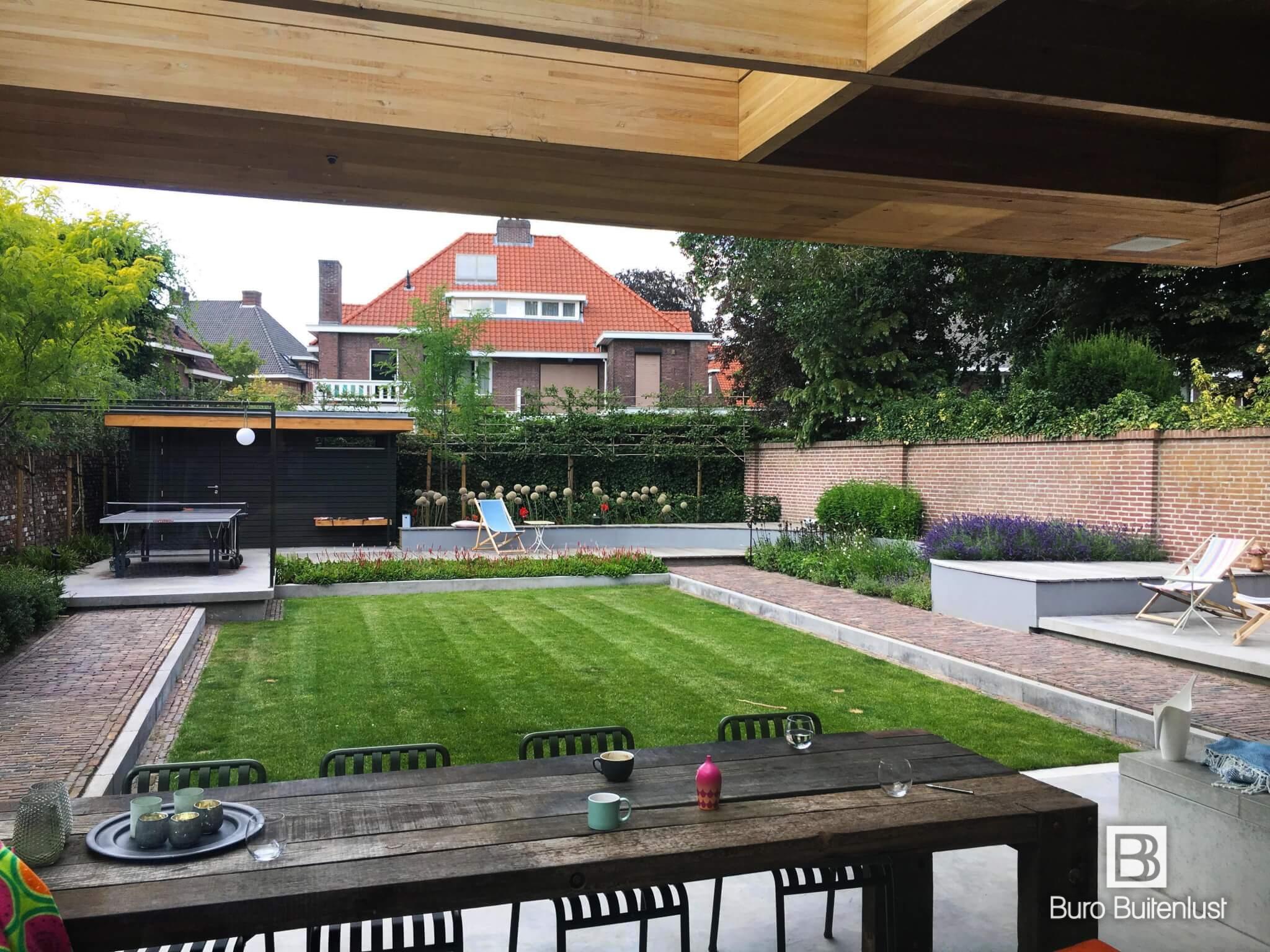 Modern tuinontwerp Eindhoven